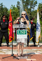 Brotherhood Color Guard USF Military Appreciation Day_April 16